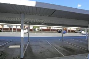 level street view of carports