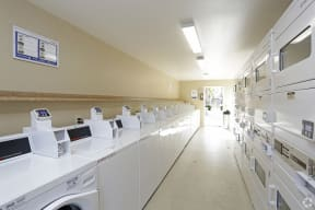 View of Laundry Room Equipment