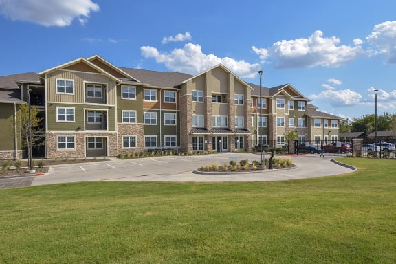 Gated Community With Controlled Access at The Elliott Senior Apartments, Arlington