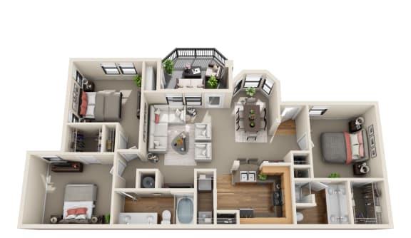 Floor Plan  Evergreen, C1