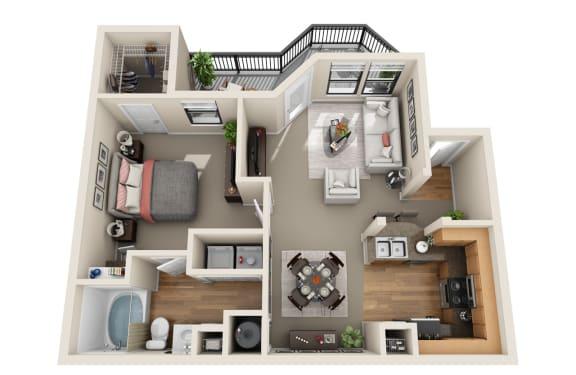 Floor Plan  Azalea Floor Plan