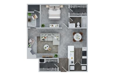 1 BED - 1 BATH | Whitney East