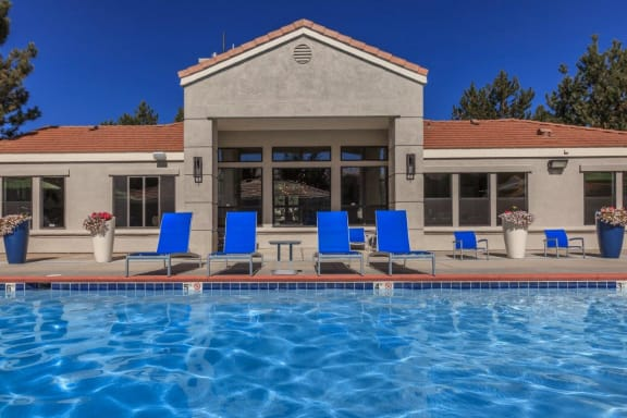 Northtowne Summit Apartments Pool Area and Clubhouse