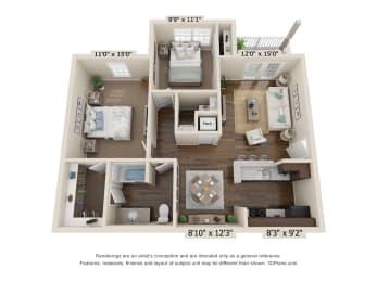 Floor Plan Crockett