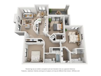 Floor Plan Mediterranean