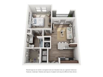 Floor Plan A1 LUX - Phase II