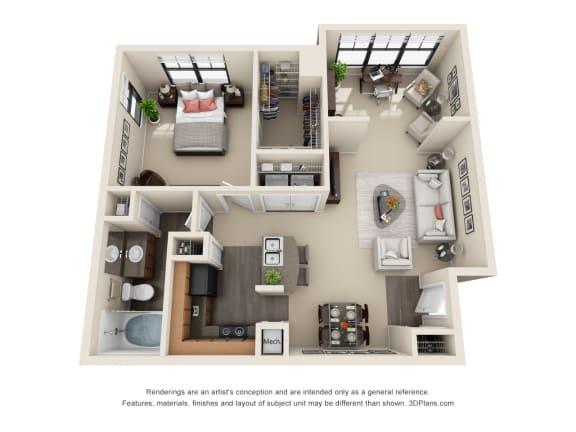 Floor Plan  Laurel