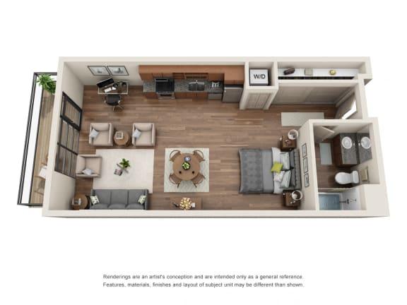 Floor Plan  Equinox Studio
