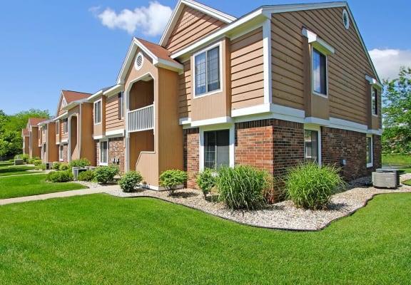 Exterior View of Property at Hampton Lakes Apartments, Walker, Michigan