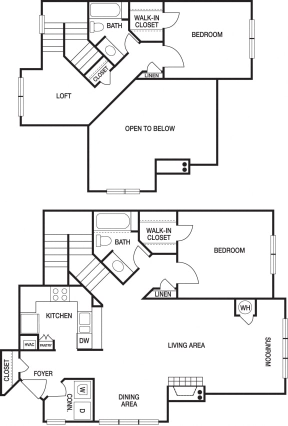 Floor Plan  apartment unit floorplan view