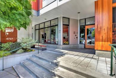 Community-Entryway to Property at Mural, Washington, 98116