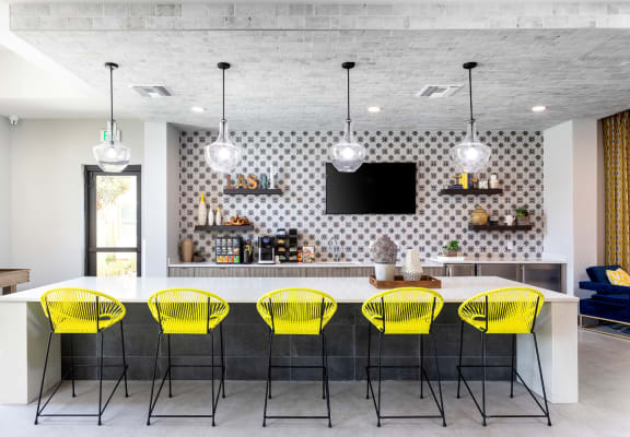 large dine in kitchen at Lakeview at Superstition Springs in Mesa, Arizona