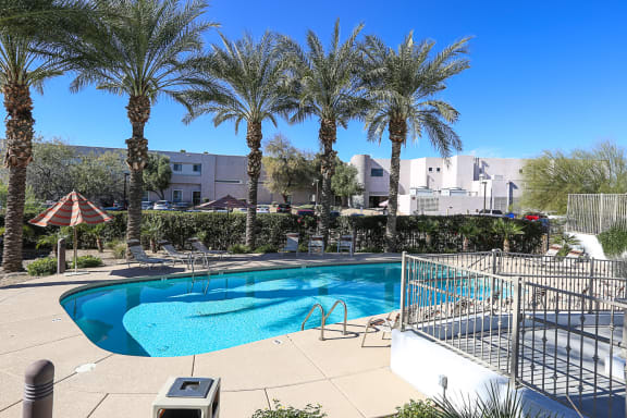 Pool at Villa Contento Apartments in Scottsdale, AZ