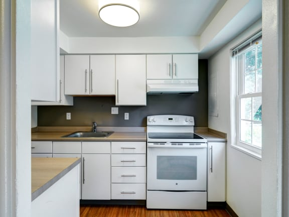 Two bedroom apartments at Colonial Estates Apartments in Springfield, MA