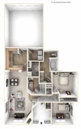 Pasafino 2x2 Floor Plan at Caviata at Kiley Ranch, Sparks, NV