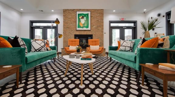 Clubhouse  at Shellbrook Apartments in Raleigh NC