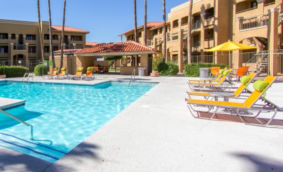 Pool at Zona Rio Apartments in Tucson AZ