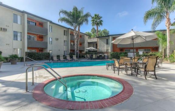 Shooting Spa at Cornerstone Apartments, California, 91304