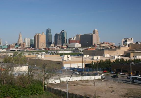 City skyline_Jazz District Apartments, Kansas City, MO