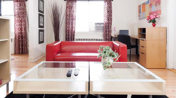Oak Ridge Apartments Living Area