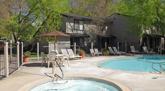 Pepperwood Pool and spa