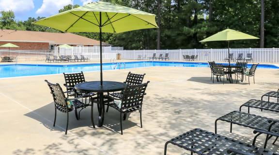 Pool at Woodland Creek Apartments