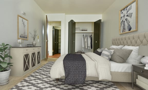 Gorgeous Bedroom at Huntington Place Apartments, Essexville, 48732
