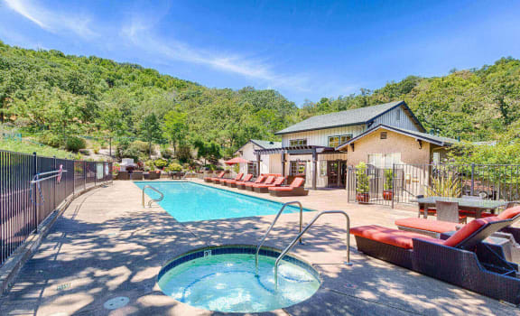 Apartment Community with Swimming Pool at Crooked Oak at Loma Verde Preserve, Novato, CA,94949