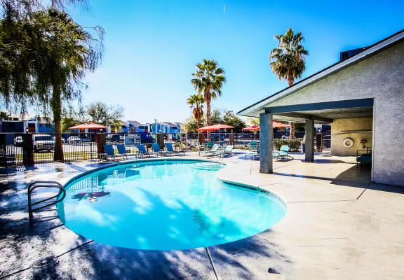 Pool at Accent on Sahara in Las Vegas, NV