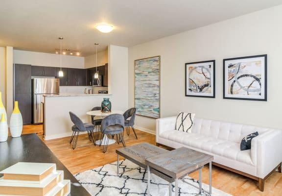 Living Room  at StonePointe, Washington
