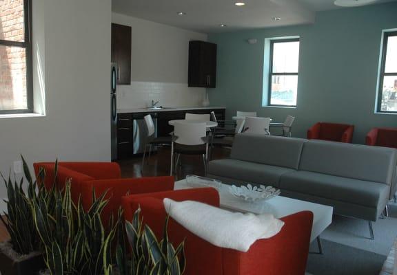 Leasing office interior-Mercer Commons Apartments Cincinnati, OH