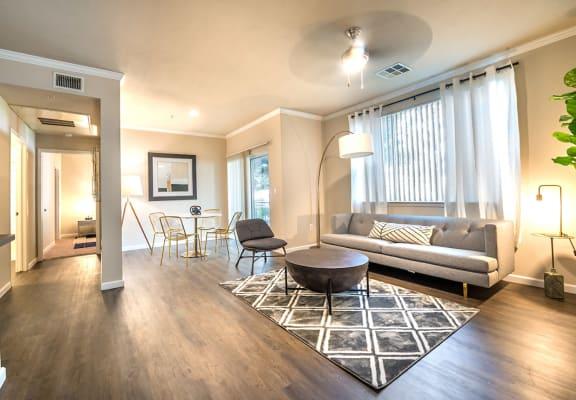 Living Room area at Bridgeport Ranch