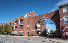 Ovaltine Court Apartments Villa Park Illinois on Villa Avenue