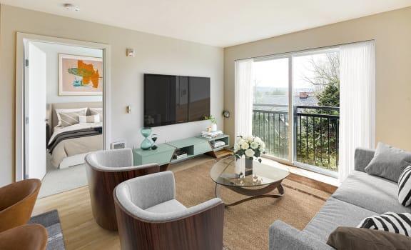 Belay Living and Bedroom