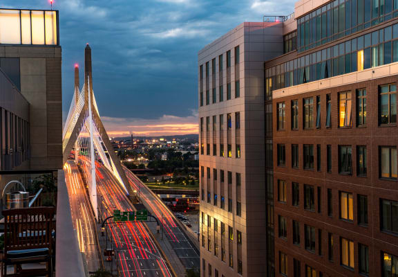 View of bridge at The Victor by Windsor, Boston, MA