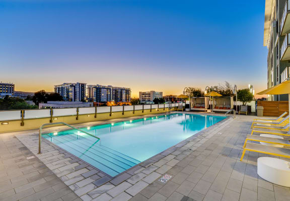 City Views From Pool at The Marston by Windsor, California, 94063