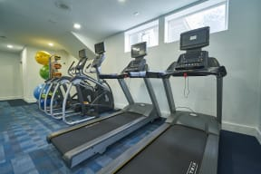 Beautiful Fitness Center at Alvista Trailside in Englewood, CO