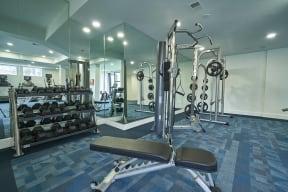 alvista gym in apartment building