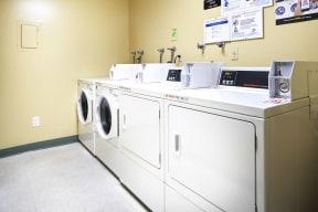 Washer/dryer room