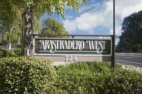 Arastradero West sign