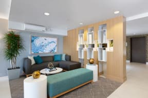 Living and receiving area