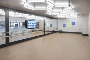 Yoga/dance room