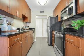 Apartments in Mountain View - Americana Apartments Kitchen