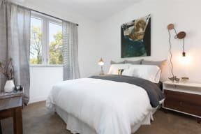 Oakland Apartments for Rent-Halcyon Apartments Bedroom