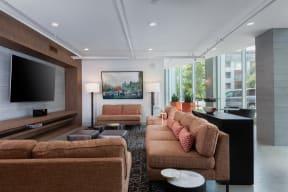 Oakland CA Apartments-Halcyon Apartments Club Room