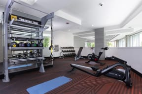 Apartments in Oakland-Halcyon Apartments Gym