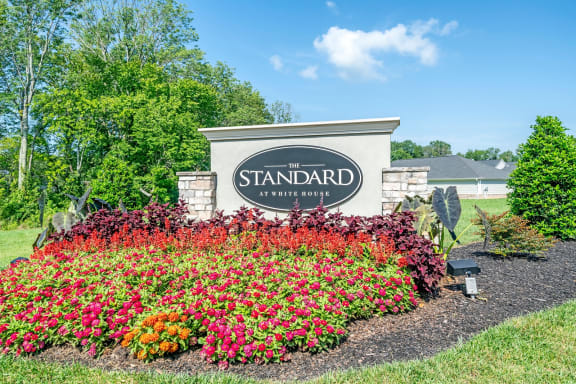 The Standard at White House|Monument SIgn Out Front