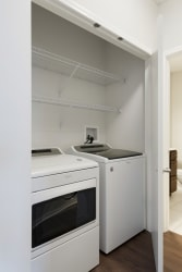 Washer/Dryer And Storage Space at Waterstone Place, Minnetonka, MN, 55305