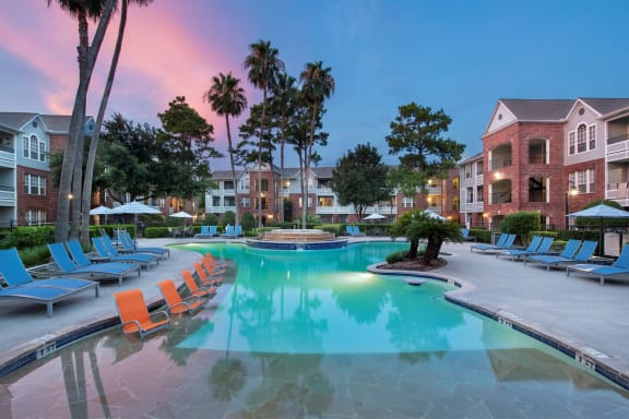 northwest houston apartments with a pool
