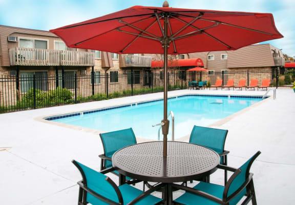 Cedarvale Highlands private resident pool area